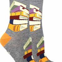 Women's Stack of Books Socks
