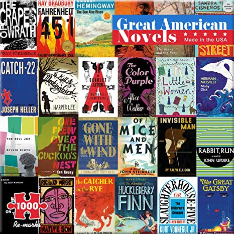 Great American Novels Jigsaw Puzzle