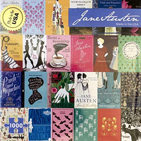 Jane Austen Book Cover Puzzle