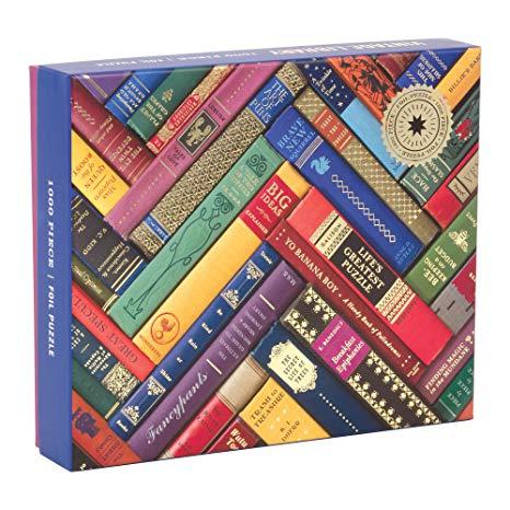 Herringbone Book Spines Puzzle