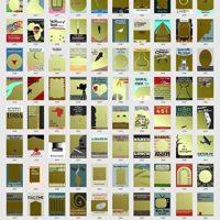 100 Books Bucket List Scratch-Off Poster
