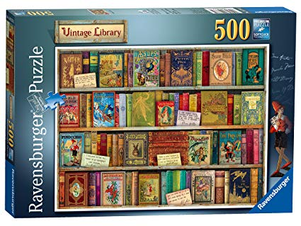 Vintage Library 500 Piece Jigsaw Puzzle