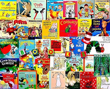 Children's Book Covers 1000 Piece Puzzle