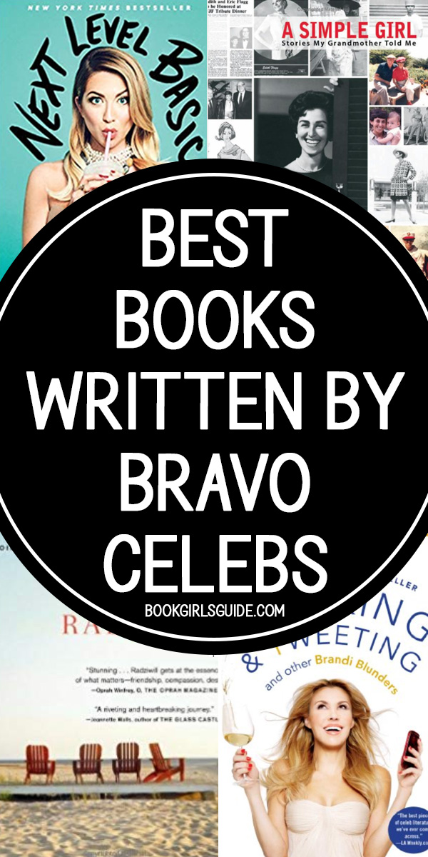 4 Book Covers Written By Bravo Stars
