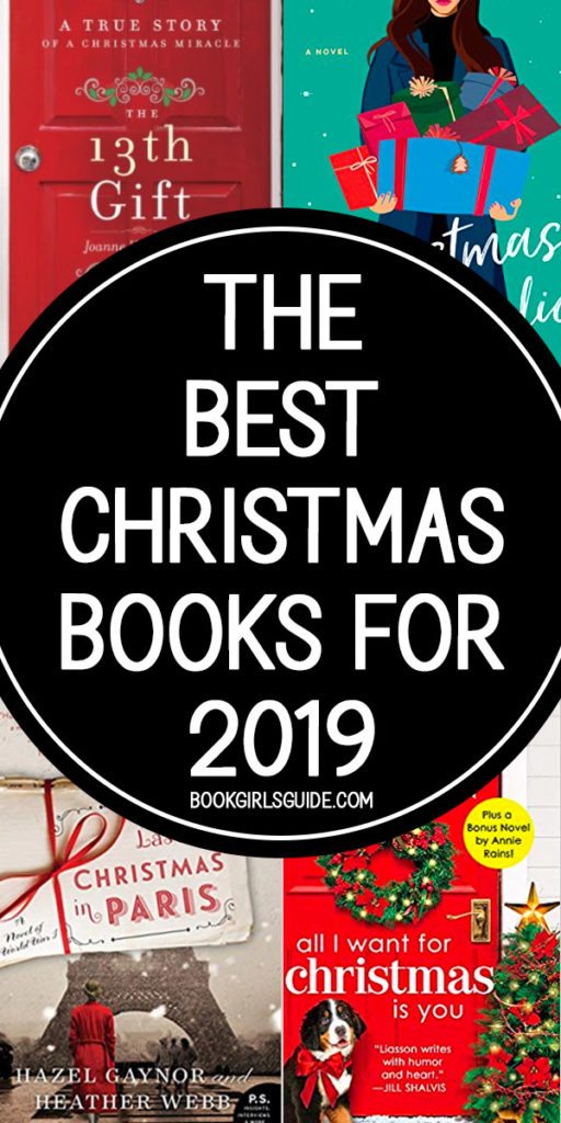 Best Christmas Books for 2019 text in black circle