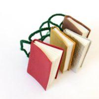 Miniature Book Ornament