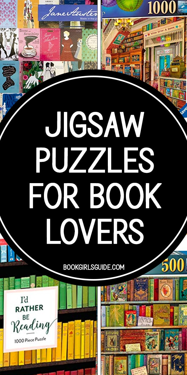 Jigsaw puzzles for book lovers