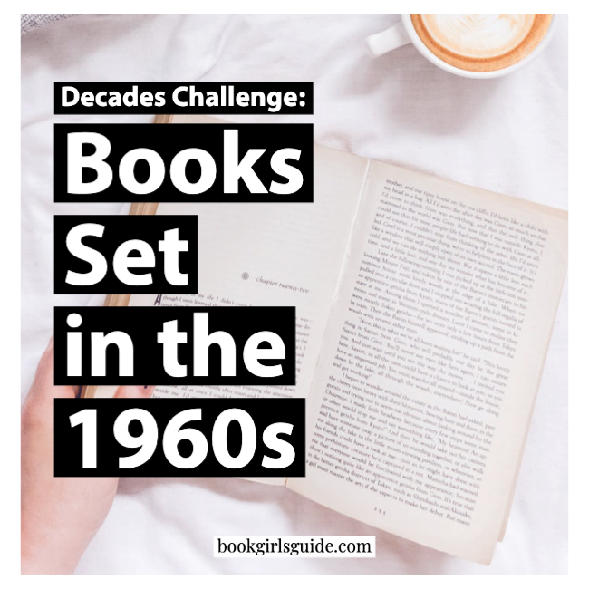 Books Set in the 1960s - Text over open book pages
