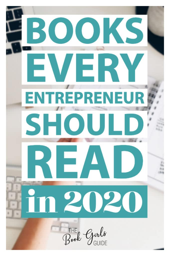 Books every entrepreneur should read in 2020 (Text over image of white desktop)