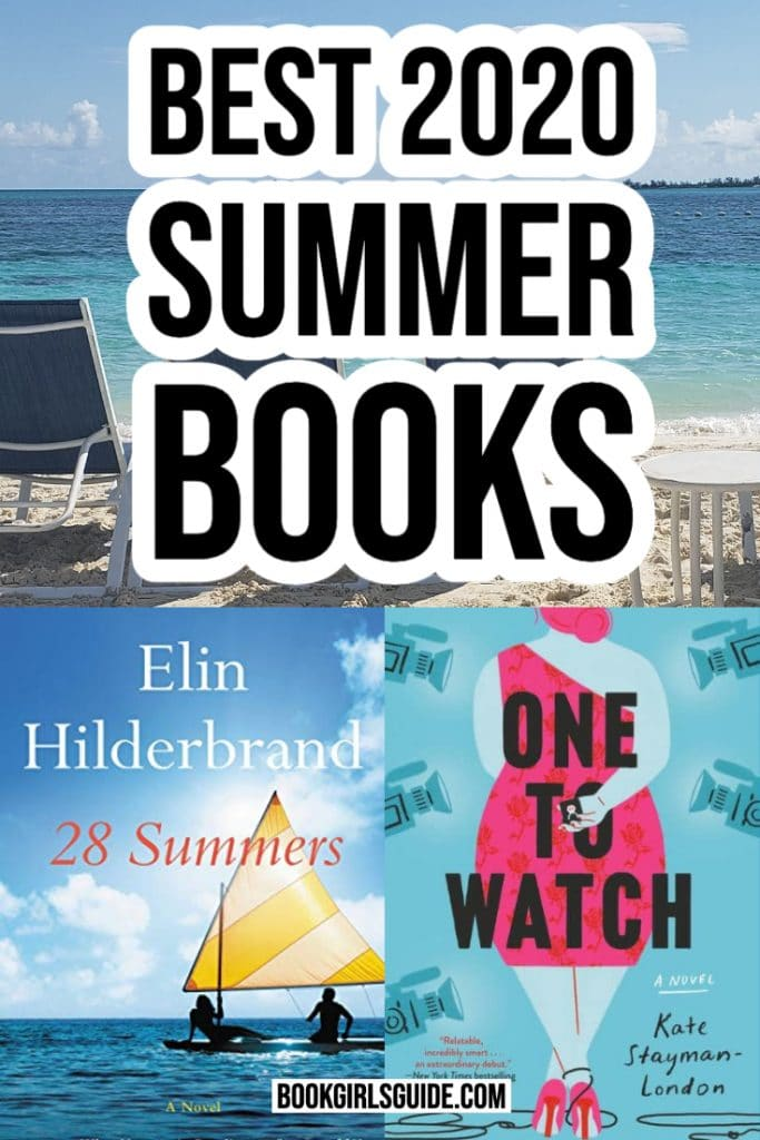 Best 2020 Summer Books (text) + Book Covers for 28 Summers and One to Watch