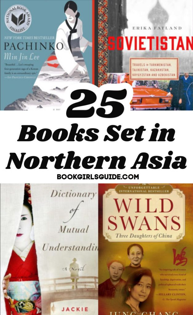25 Books Set in Northern Asia