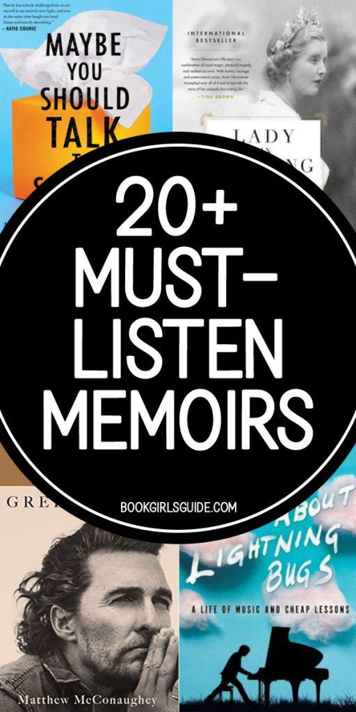 Must listen audiobook memoirs